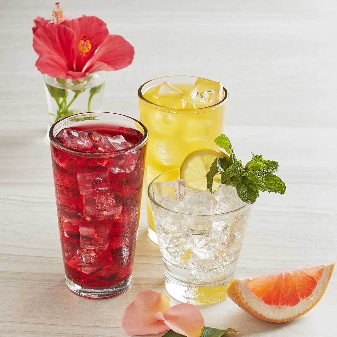 <p>Ready, Set…Here's to our New Drinks!</p>